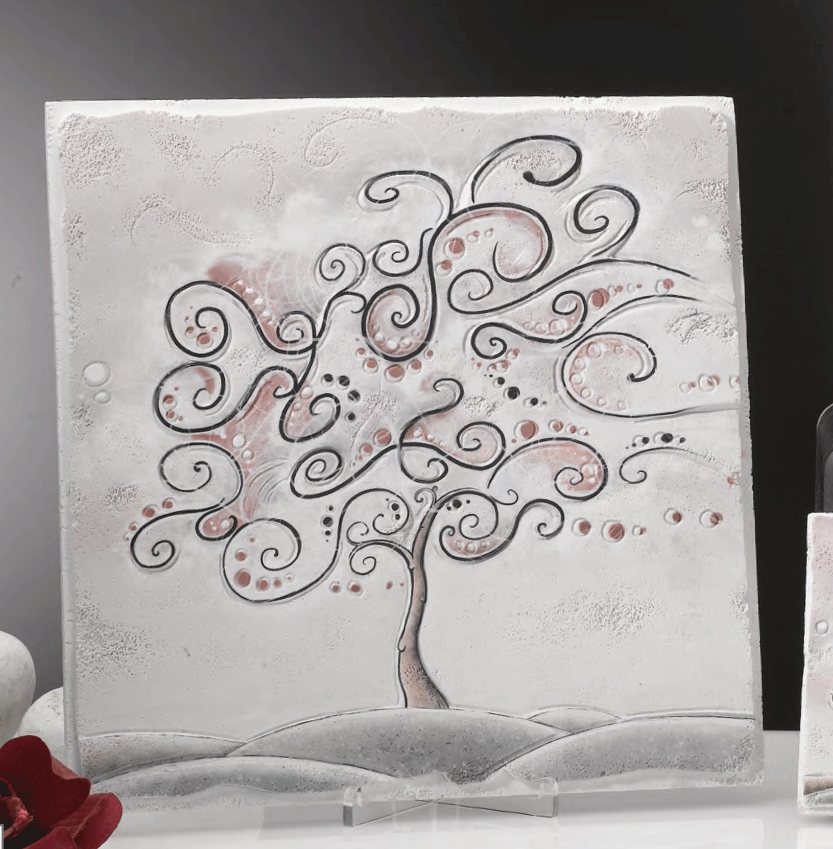 Quadro albero della vita delizia il pi vasto for Quadri in argento