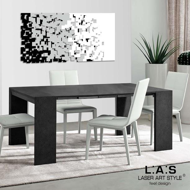Quadro Moderno - Quadro moderno soggiorno Laser Art | Di Cristofalo
