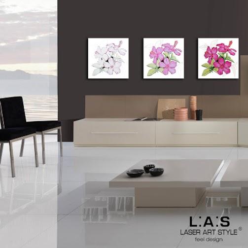 Tris quadri moderni quadro moderno con taglio laser tris - Quadri da parete moderni ...