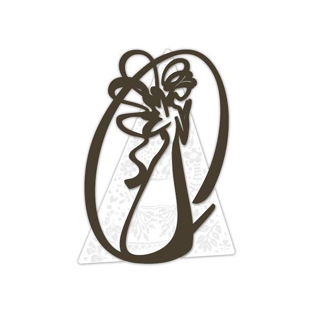 Preferenza Quadro moderno Sacro con angelo stilizzato - Laser Art Style - Di  DU28