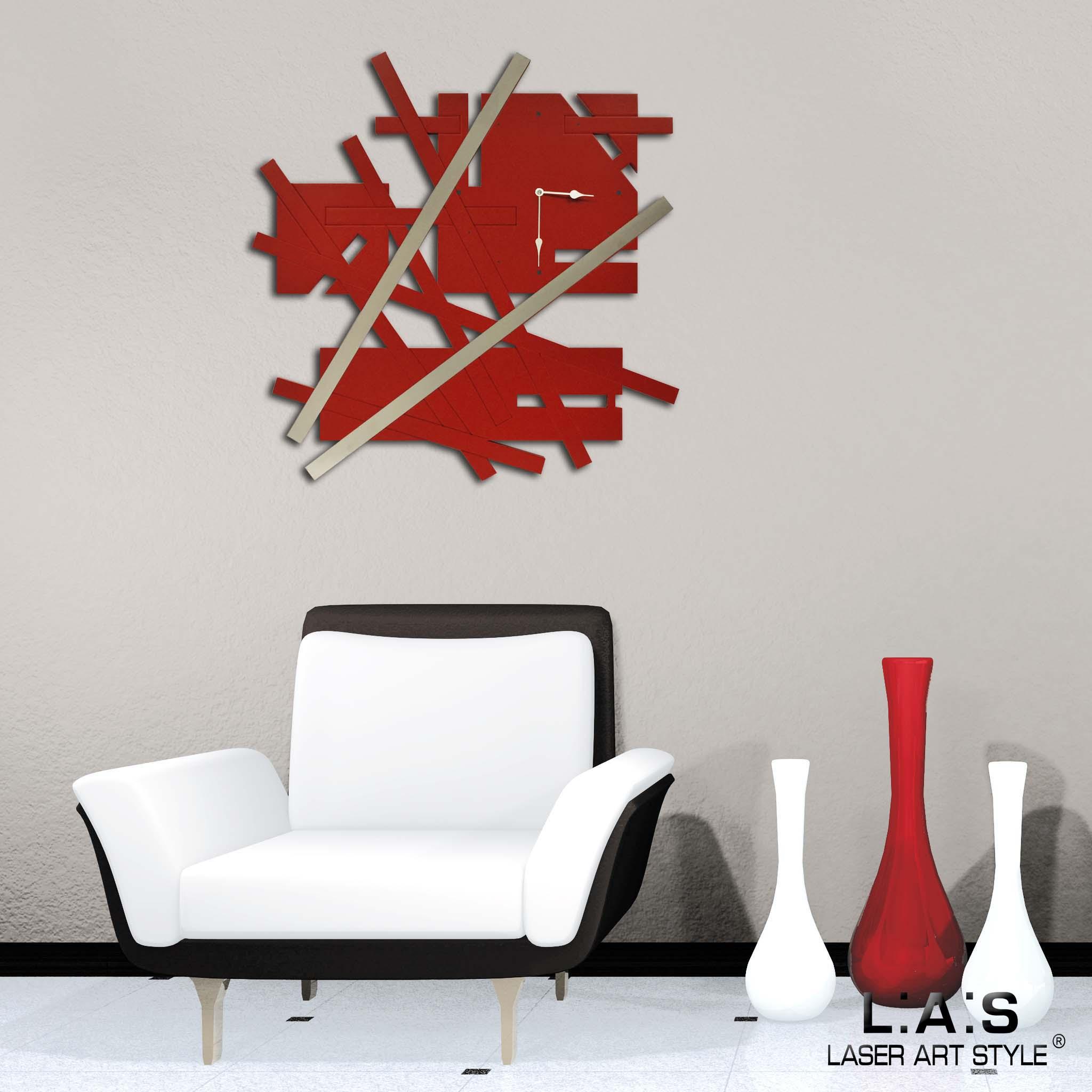 Orologio per arredamento moderno - Laser Art Style - Di Cristofalo ...
