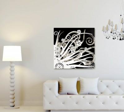 Quadro dal design moderno laser art style - Decor art quadri bari ...