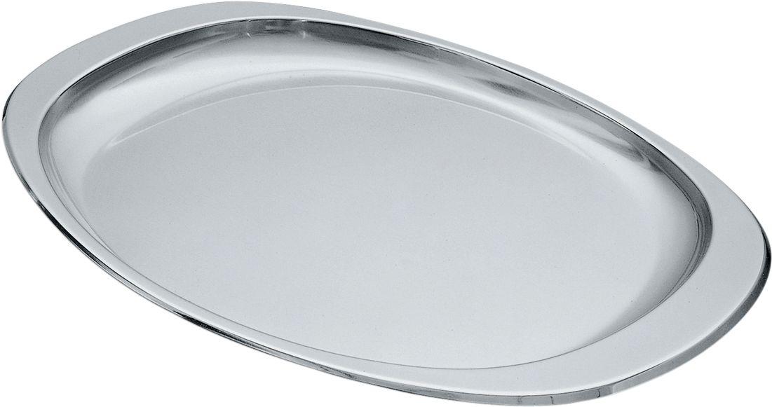 Vassoio ovale in acciaio alessi di cristofalo for Costo vassoio alessi