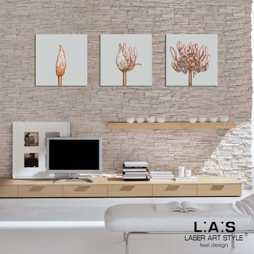 Tris quadri moderni quadro moderno con taglio laser tris for Quadri d arredo moderni