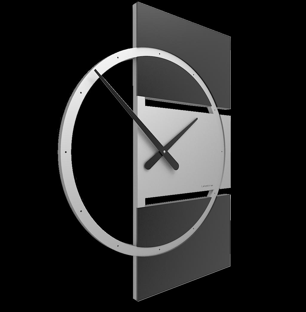 Orologio da parete design moderno orologio da parete rettangolare callea di cristofalo - Orologio design parete ...