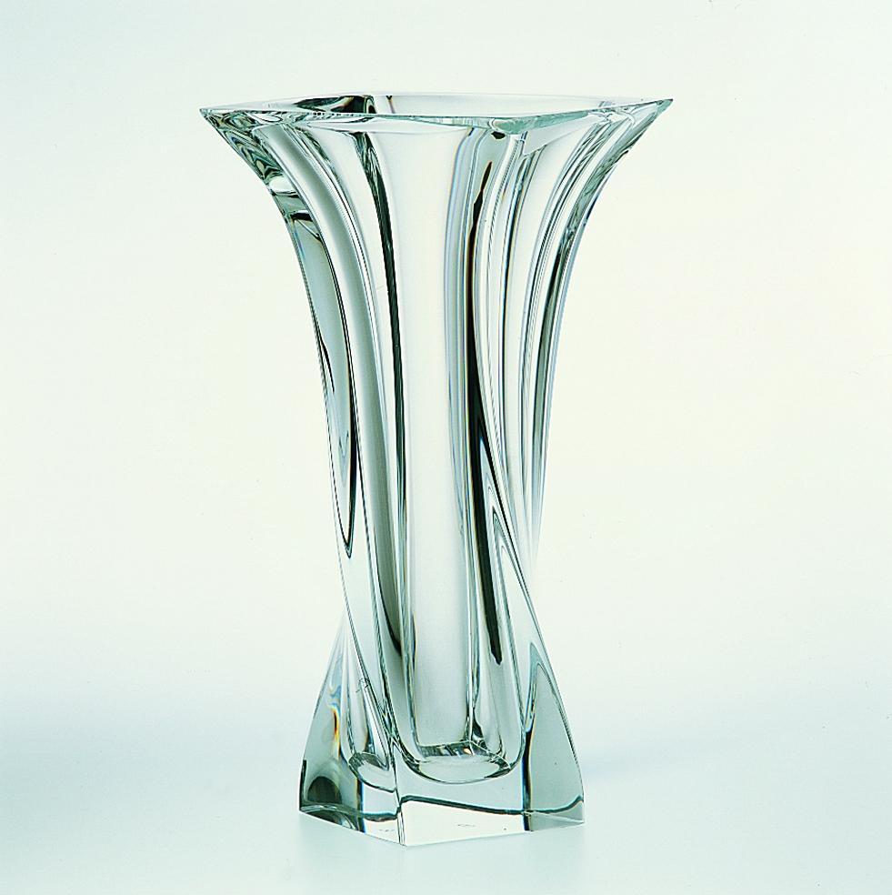 vaso naxos cristal sevres di cristofalo. Black Bedroom Furniture Sets. Home Design Ideas