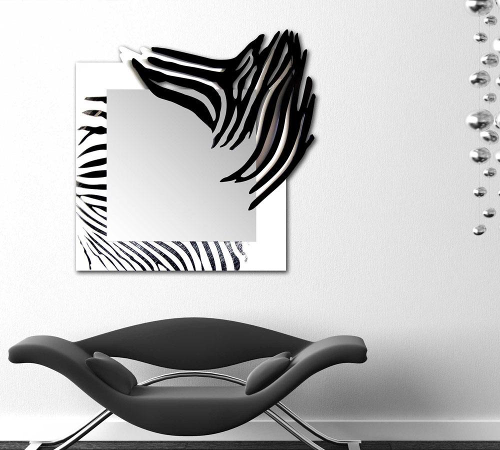 Specchiera astratta moderna incisa laser art style di for Oggettistica moderna on line