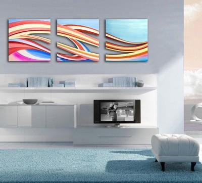 Quadro moderno quadro moderno con taglio laser tema astratto in legno - Decor art quadri bari ...