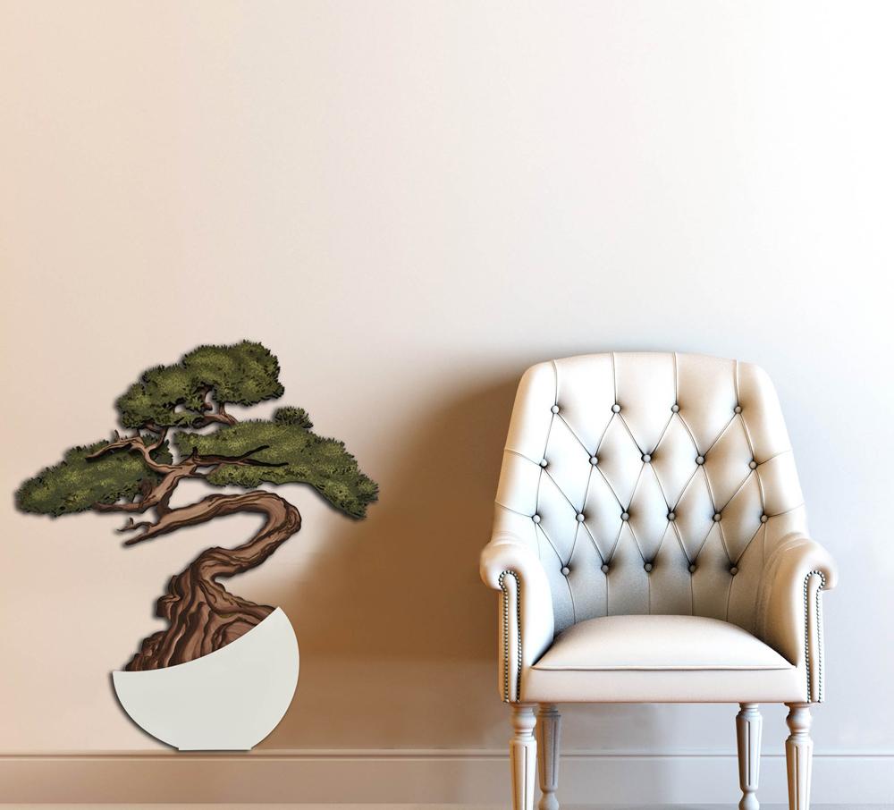 Quadri design moderni astratti - Vaso con fiori Laser Art Style ...