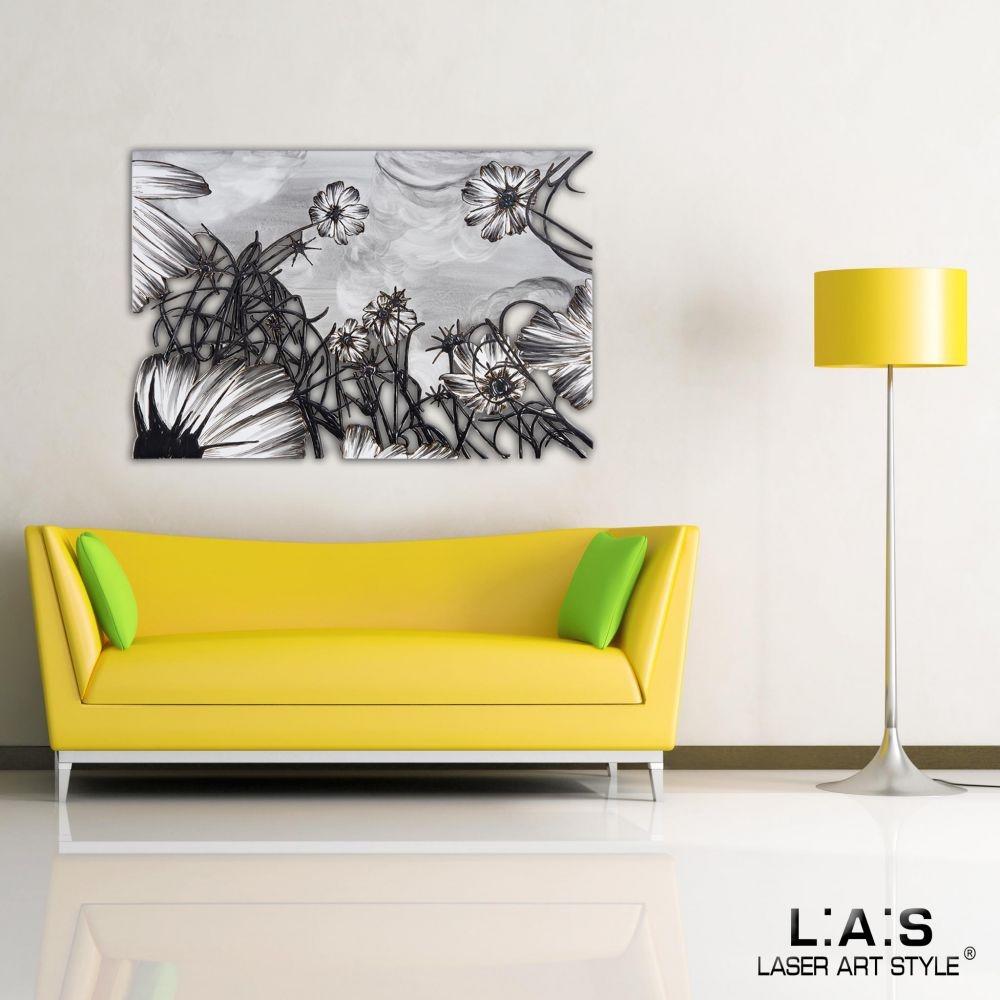 Quadro dal design moderno paesaggio laser art style for Oggettistica design moderno