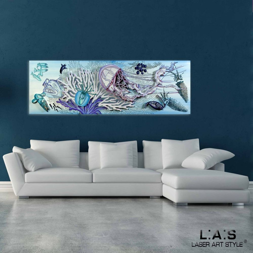 quadri per arredamento moderno laser art style