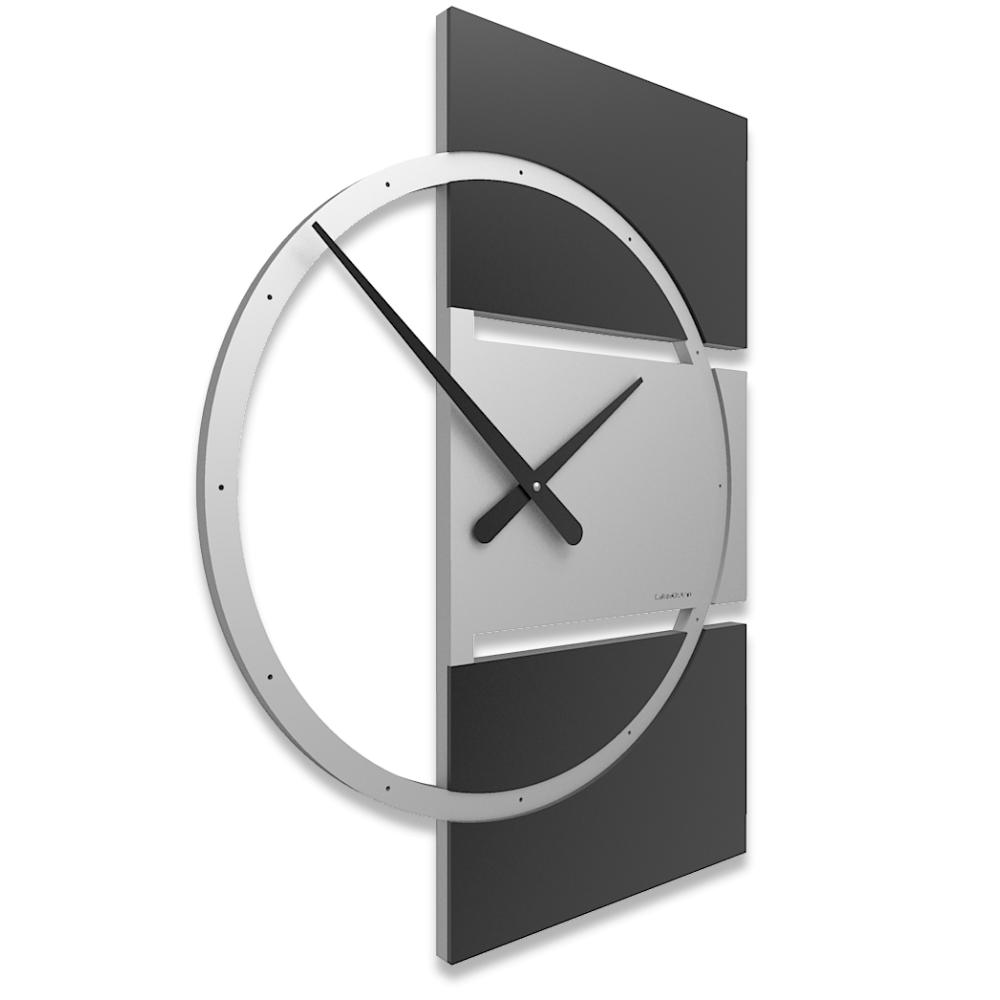 Orologio Moderno Da Parete In Legno Rettangolare