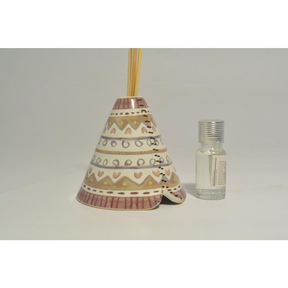 Tenda Indiani Fai Da Te profumatore tenda indiana in ceramica - collezione 2020