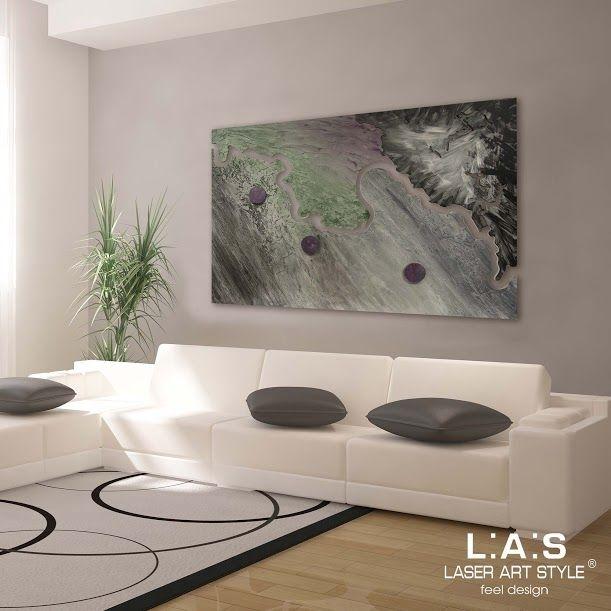 Quadro per soggiorno moderno   Di Cristofalo