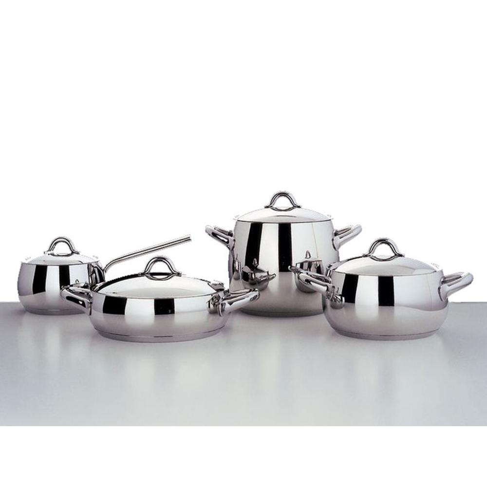 Set batteria da cucina 8 pz mami alessi - Batteria da cucina lagostina prezzi ...