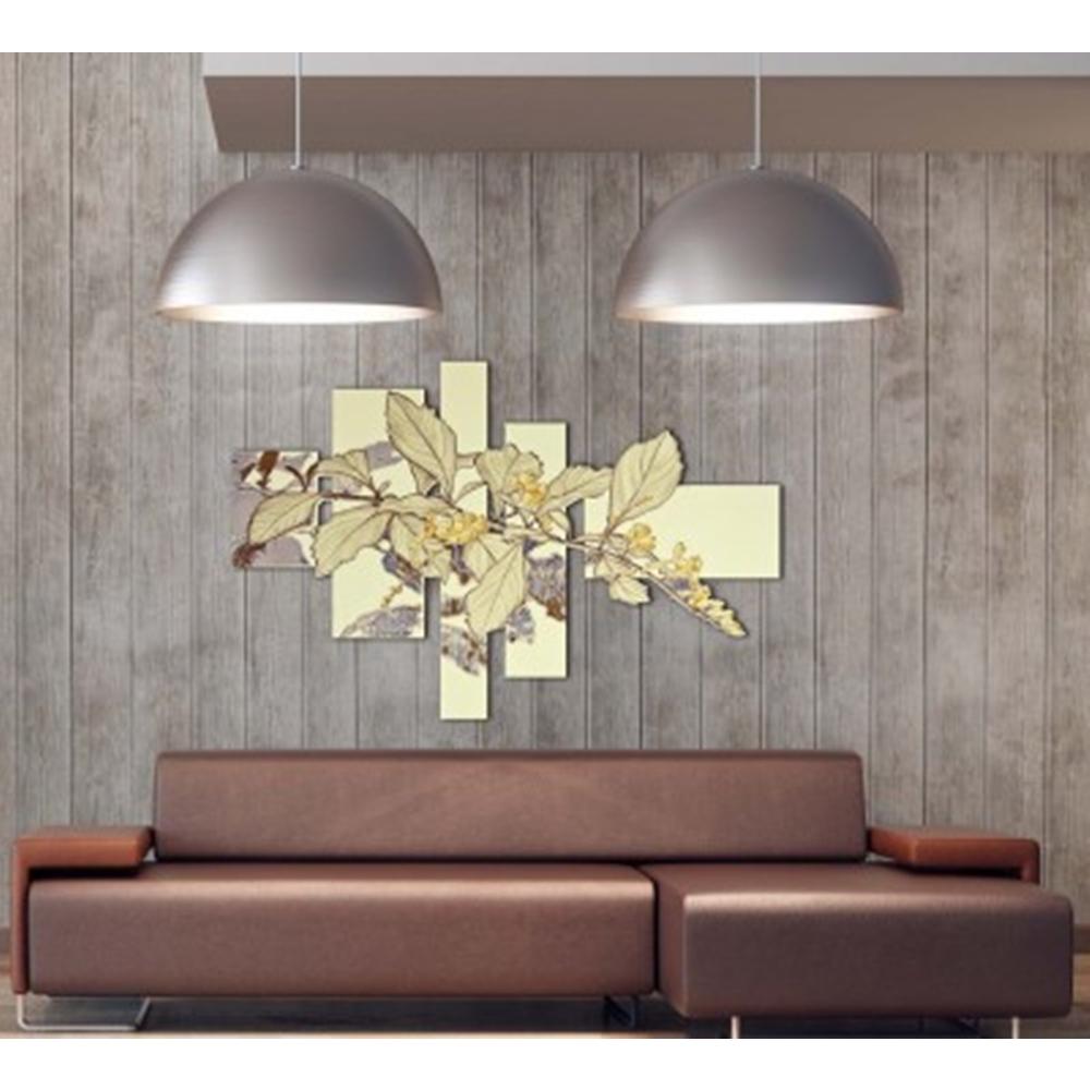 Quadro floreale dal design moderno - Laser Art Style
