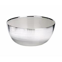 Ciotola SINFONIA in vetro e argento matrimonio - Argenesi