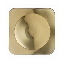 Piatto quadrato MEDUSA ROSSA 33 cm Rosenthal Versace