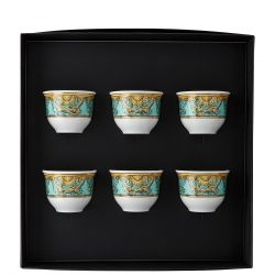 Set 6 bicchieri piccoli LA SCALA DEL PALAZZO Rosenthal Versace