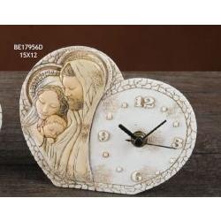 Orologio Sacra famiglia Cuore Febe