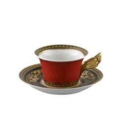 Tazza tè MEDUSA ROSSA Rosenthal Versace