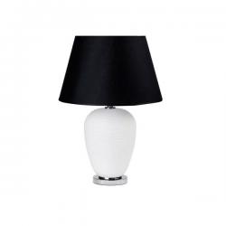 Lampada in vetro con paralume nero - L'OCA NERA