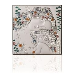 Pannello quadro in lastra di argento