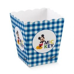 Vaso Disney Mickey's Party Blu Piccolo