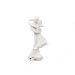 Statua innamorati abbracciati - Bongelli