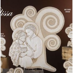 Capezzale Albero con Sacra Famiglia Melissa
