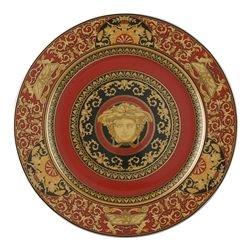 Piatto MEDUSA ROSSA 30 cm Rosenthal Versace