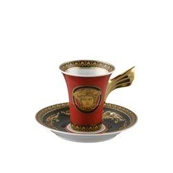 Tazzina da caffè MEDUSA ROSSA Rosenthal Versace
