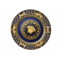 Piatto Segnaposto MEDUSA BLU Rosenthal cm. 30 Versace