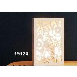Lampada Pannello traforo fiori con retroilluminazione led
