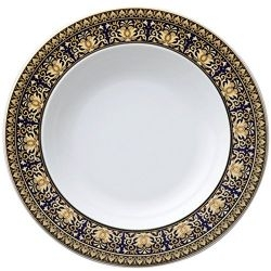 Piatto fondo MEDUSA BLU 22 cm Rosenthal Versace