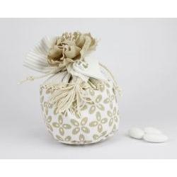 Sacchetto porta confetti + teiera bomboniere x Matrimoni linea MARTINA - Joel