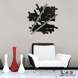 Orologi design moderno astratti - Laser Art Style