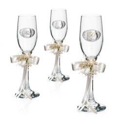 Coppia Bicchieri linea Flute Anniversario 50esimo - Atelier