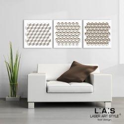 Tris Quadro Moderno forme geometriche
