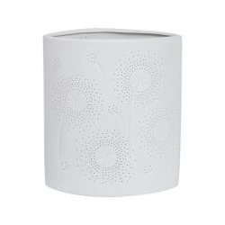 Lampada piccola ovale in porcellana - L'OCA NERA