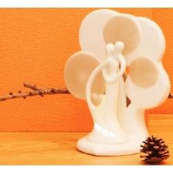 Lampada led con albero e Coppia Innamorati