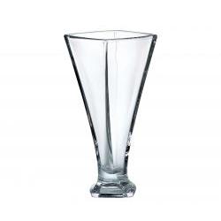 Vaso in cristallo Quadro 28 cm