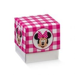 Scatolina portaconfetti Disney Minnie's Party Rosa