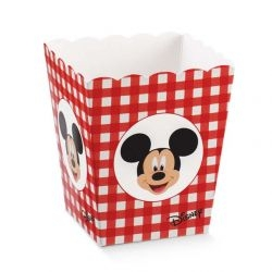 Vaso Disney Mickey's Party Rosso Piccolo