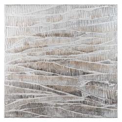 Quadro acrilico su tela 100x100 - L'Oca Nera