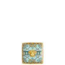 Coppetta quadra piana LA SCALA DEL PALAZZO 12 cm Rosenthal Versace