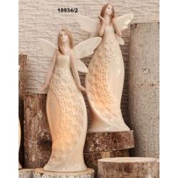 Fatima in ceramica con led interni