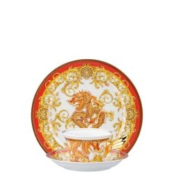 Piatto + Tazza Tè ASIAN DREAM Rosenthal Versace 25 ANNI