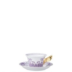 Tazza Tè LES GRAND DIVERTISSEMENT Rosenthal Versace 25 ANNI
