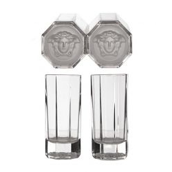 Set 2 Bicchieri LongDrink MEDUSA LUMIERE HAZE Rosenthal Versace